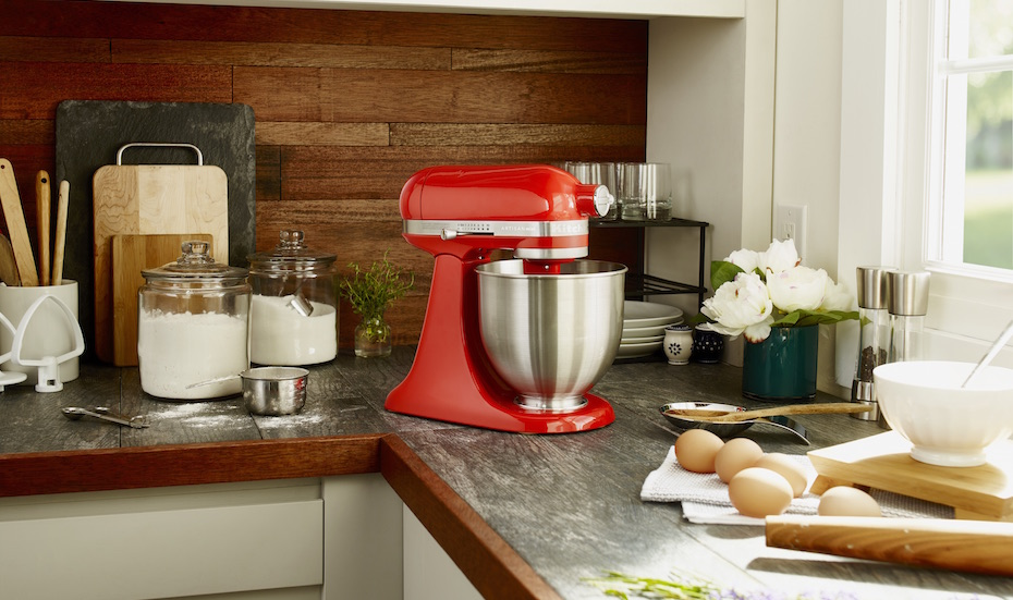Find mixers Image Credit: KitchenAid