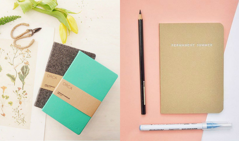 Chic notebooks and journals for the stationery obsessed