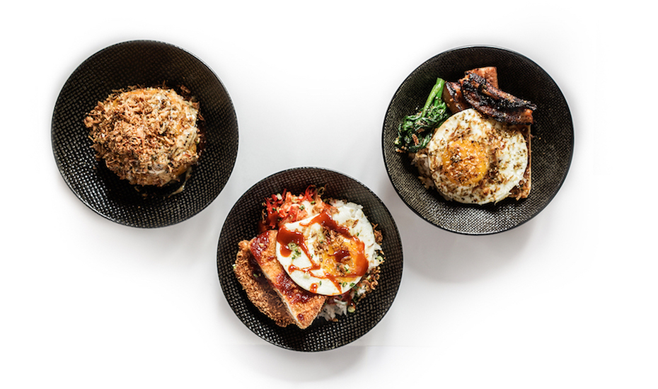 Cheap Lunch in Jakarta: Three Buns, Senopati's hippest burger joint, is now serving rice bowls