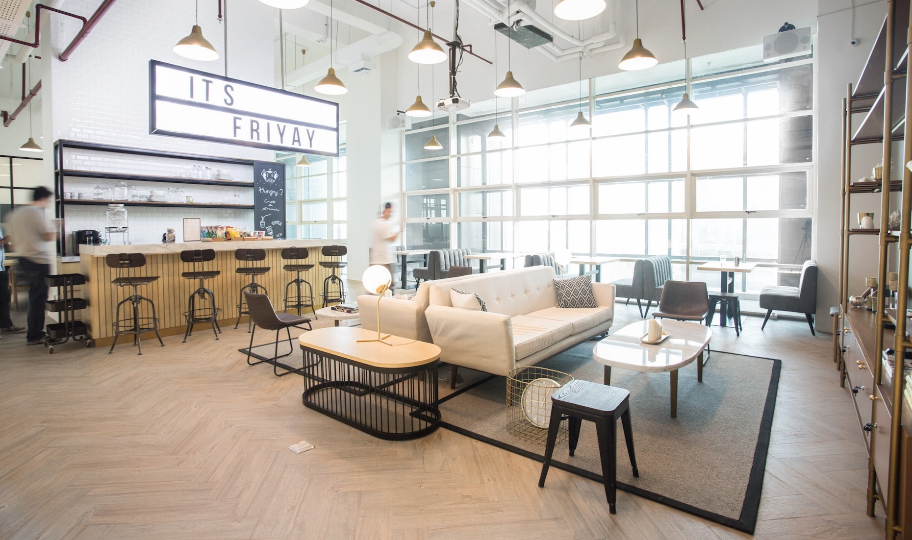 GoWork is a stunning new coworking space and private office in Central Jakarta