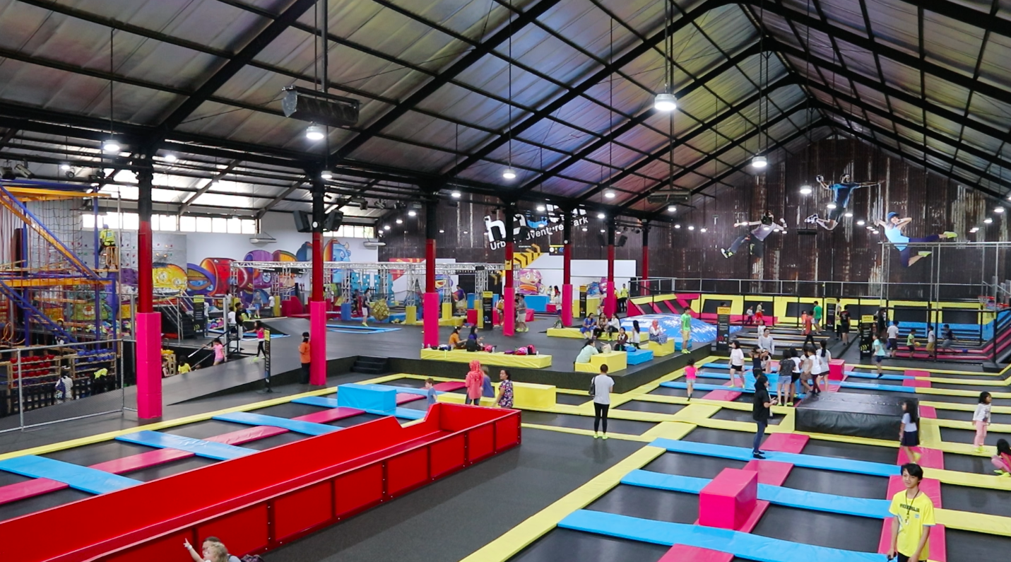 Houbii Urban Adventure Park: From indoor climbing, trampoline park, ninja obstacle course, dunk arenas and more fun zones