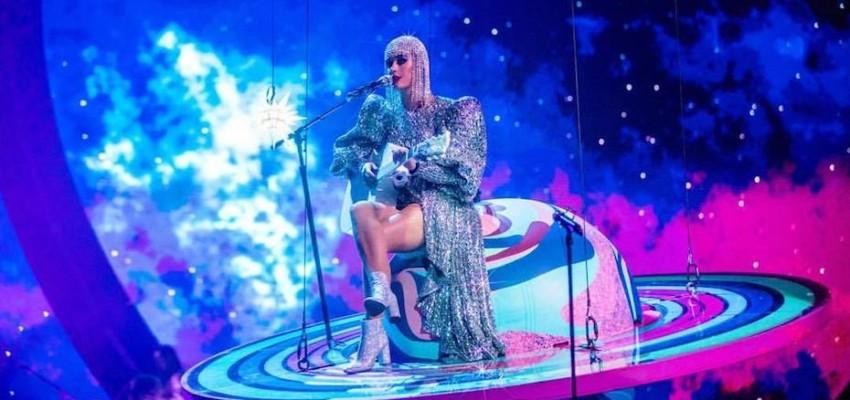 Katy Perry in Jakarta