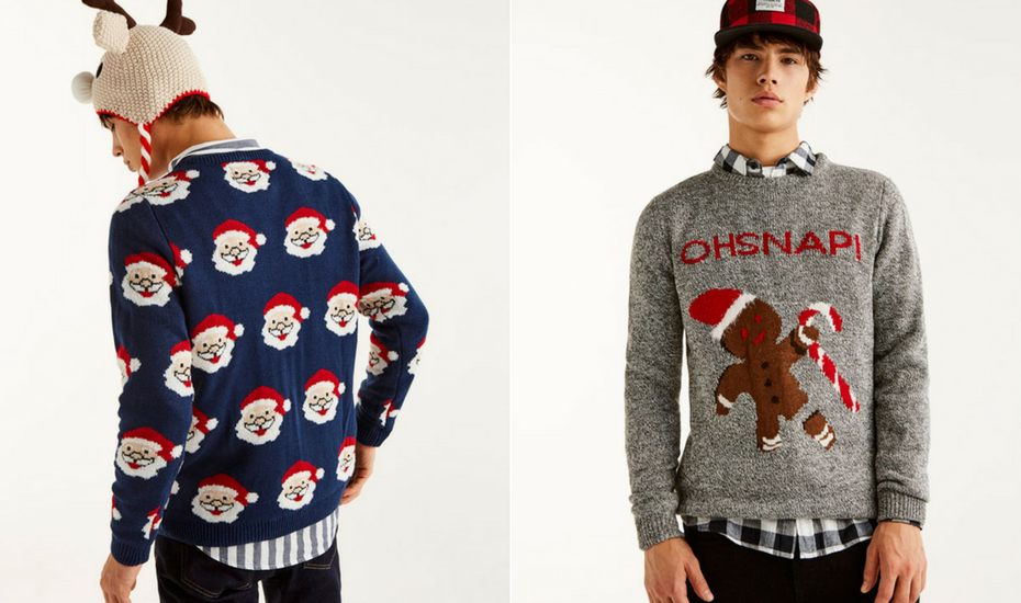 Christmas gift guide him sweater jumper Pull & Bear