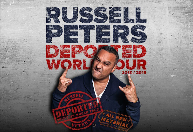 Russell Peters: Deported World Tour 2018