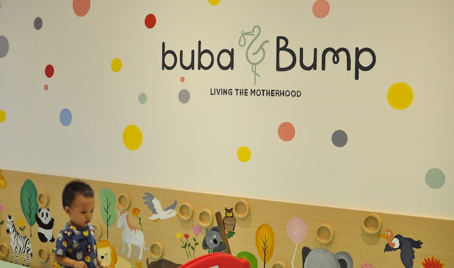 Buba and Bump is a unique family-friendly place in Senopati, featuring activities like prenatal classes, breastfeeding classes and childrens yoga