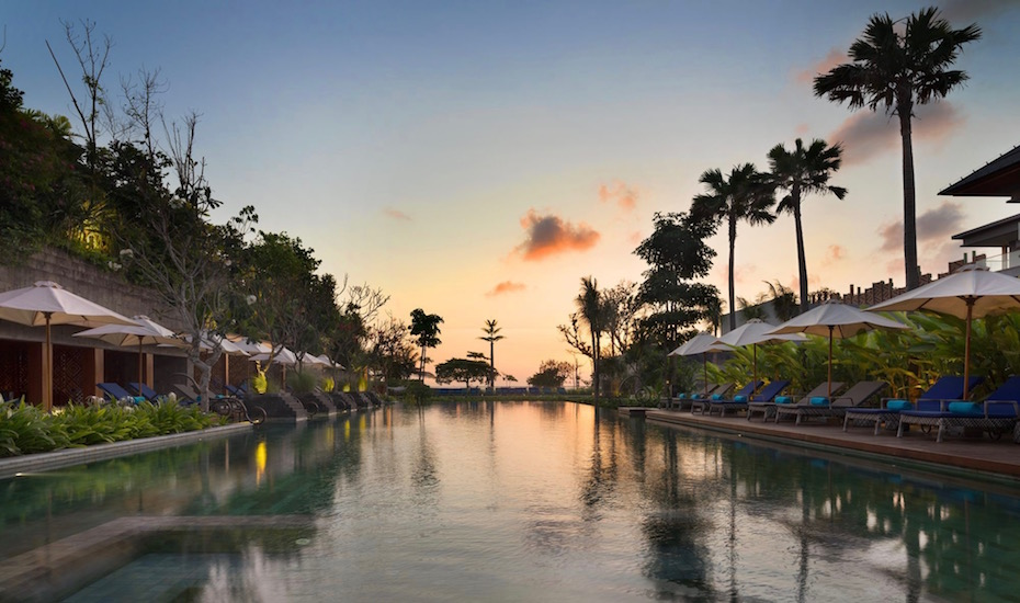 Next time you're in Bali, check into the new oceanfront Hotel Indigo Bali Seminyak Beach