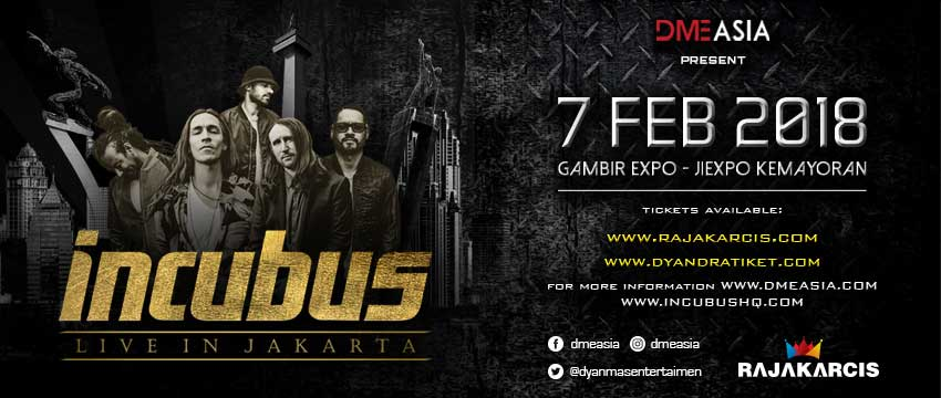 Incubus Live in Jakarta