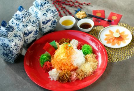 Yee Sang Jia Shangri-La Hotel Jakarta Chinese New Year