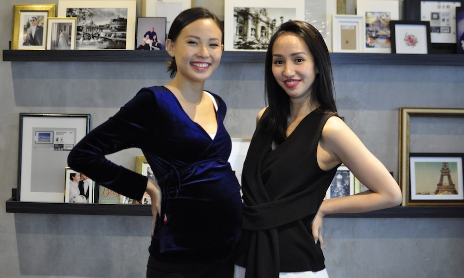 Maternity styling tips from local fashion brand owners of Musee and Margot and Sage