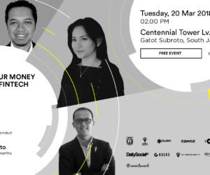 invest money through fintech platform indonesia entrepreneur center seminar march 2018 jakarta