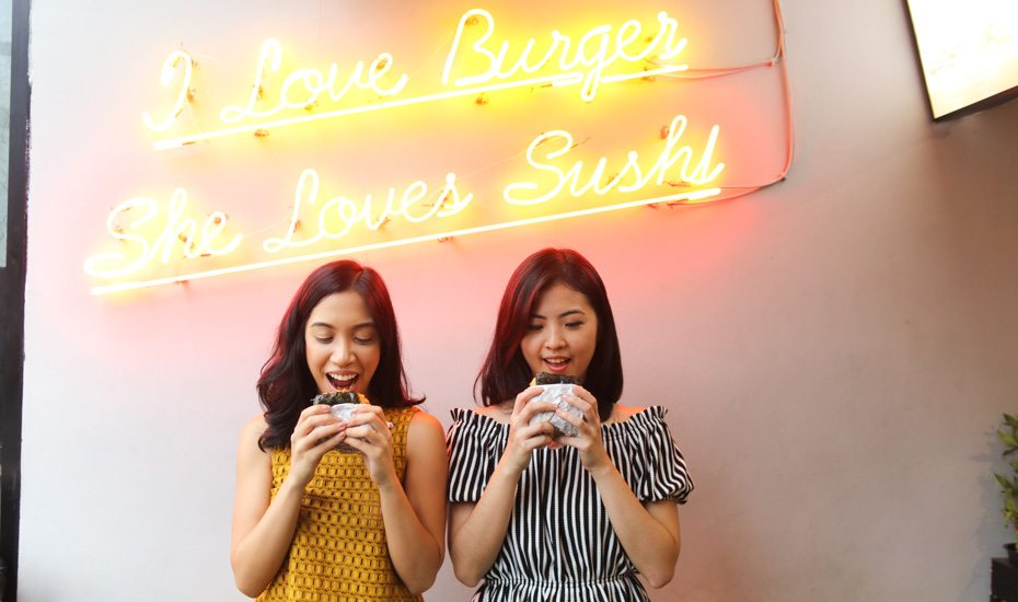 Not your regular burger joint, Burgushi brings the sushi burger food trend to Jakarta