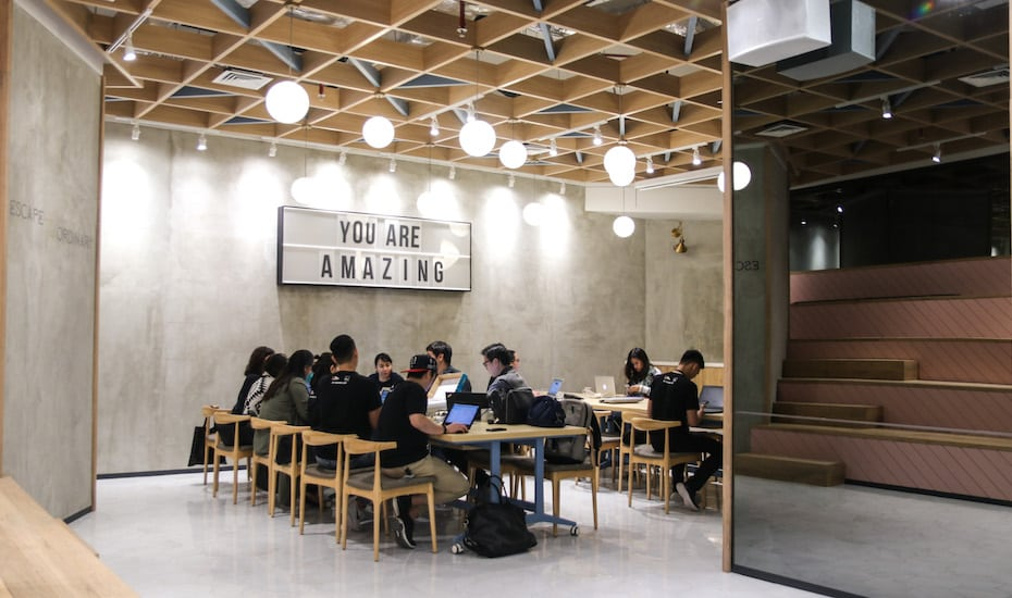 Looking for a coworking space for both business with pleasure? GoWork Pacific Place might just be the one for you