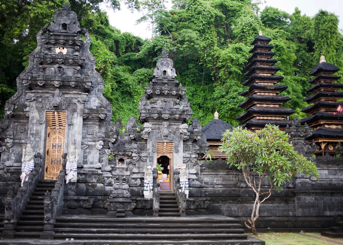 Pura Goa Lawah - one of the most beautiful temples in Bali, Indonesia