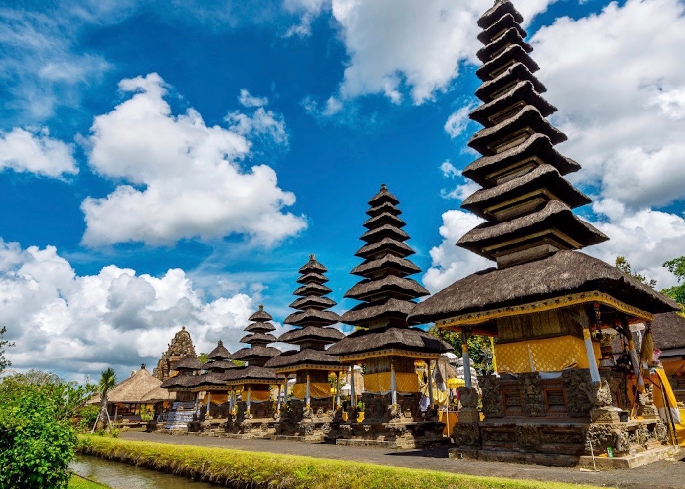 Pura Taman Ayun - one of the most beautiful temples in Bali, Indonesia