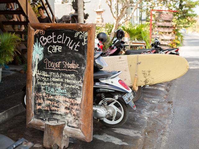 Betelnut Café: A Gem in Canggu
