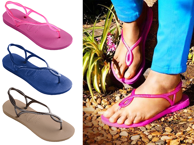 HAVE-TO-HAVE THE HOTTEST NEW FLIP FLOPS, HAVAIANAS LUNA
