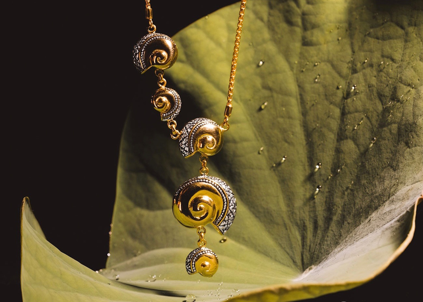 Sunaka gold and silver cultural jewellery in Bali, Indonesia
