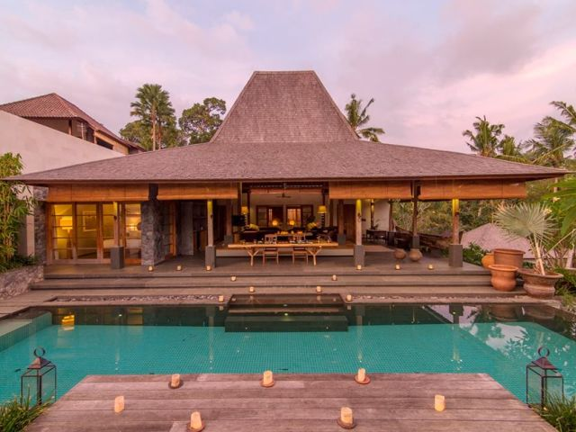 Ubud Villa:  The Purist
