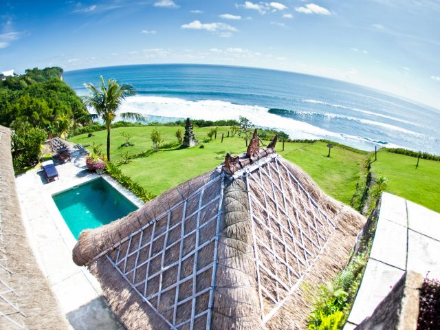 Uluwatu Surf Villas Review:  Epic sunsets, surf and yoga views for miles