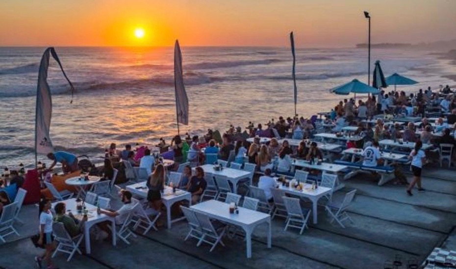 best sunset bars in Bali - echo beach house canggu
