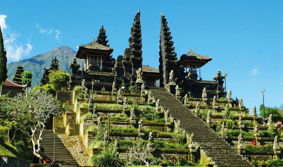 Go East and visit the temples