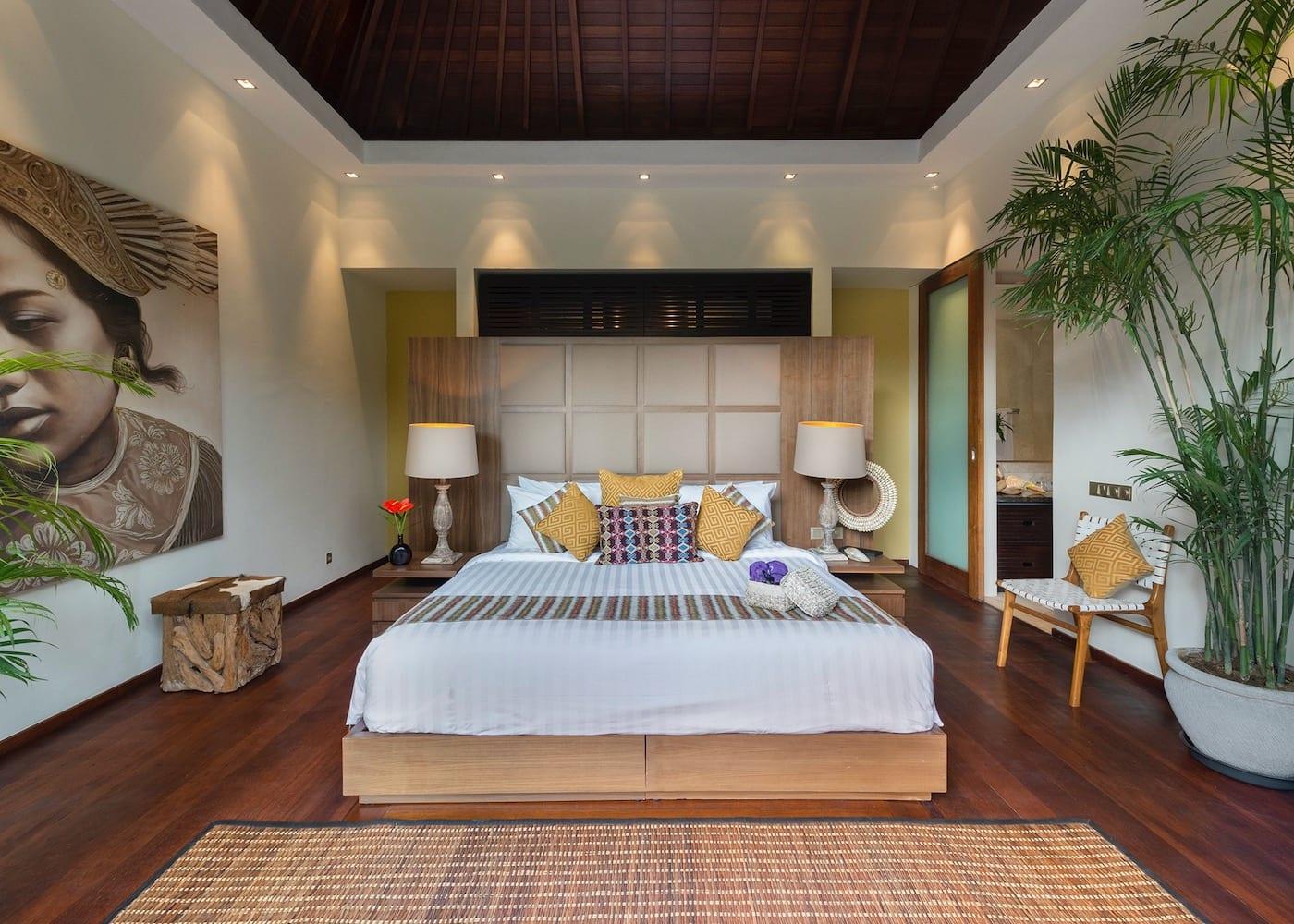 Inside Eshara Villas - one of the best private villas in Seminyak, Bali, Indonesia