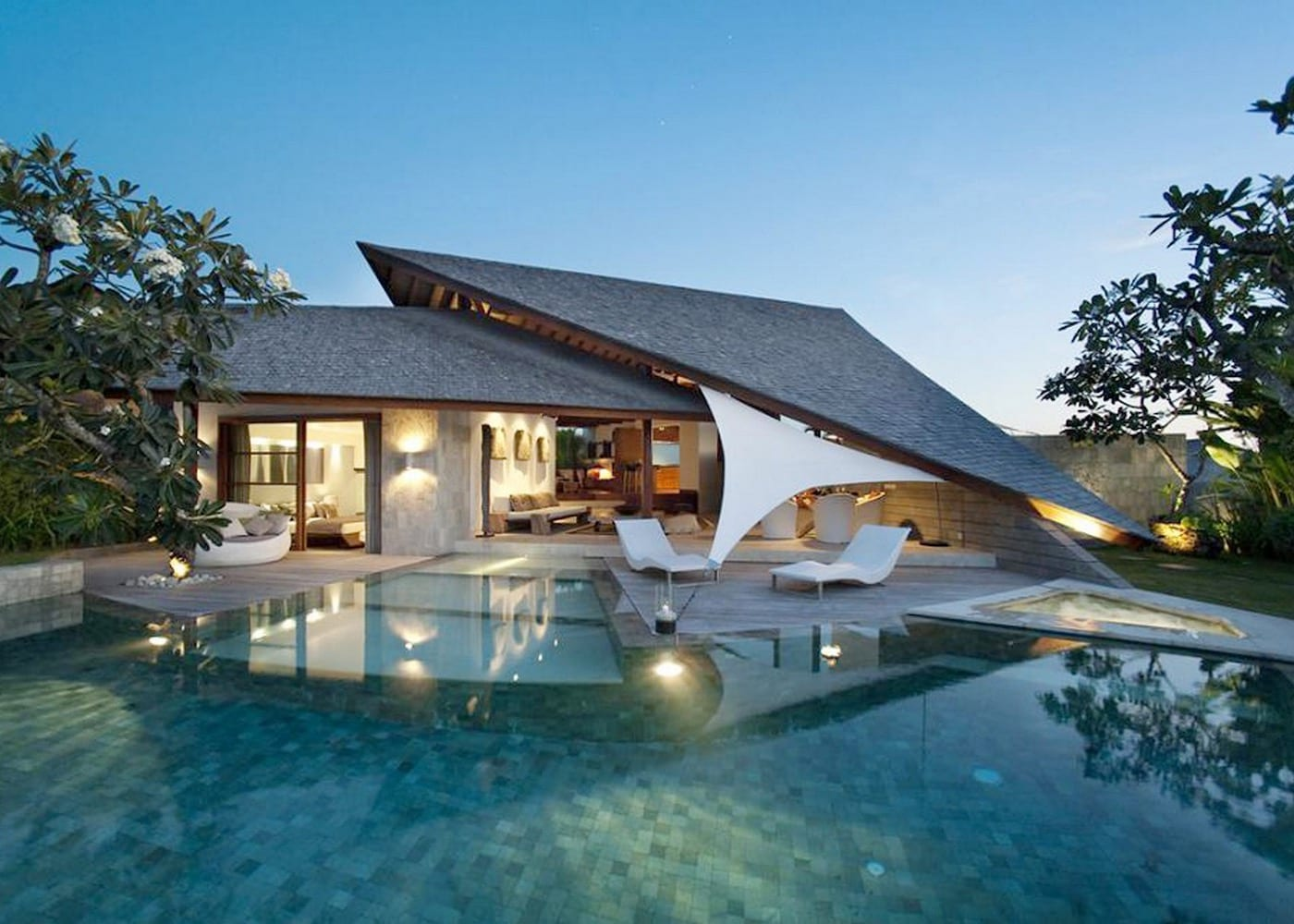Inside The Layar - one of the best villa resorts in Seminyak, Bali, Indonesia