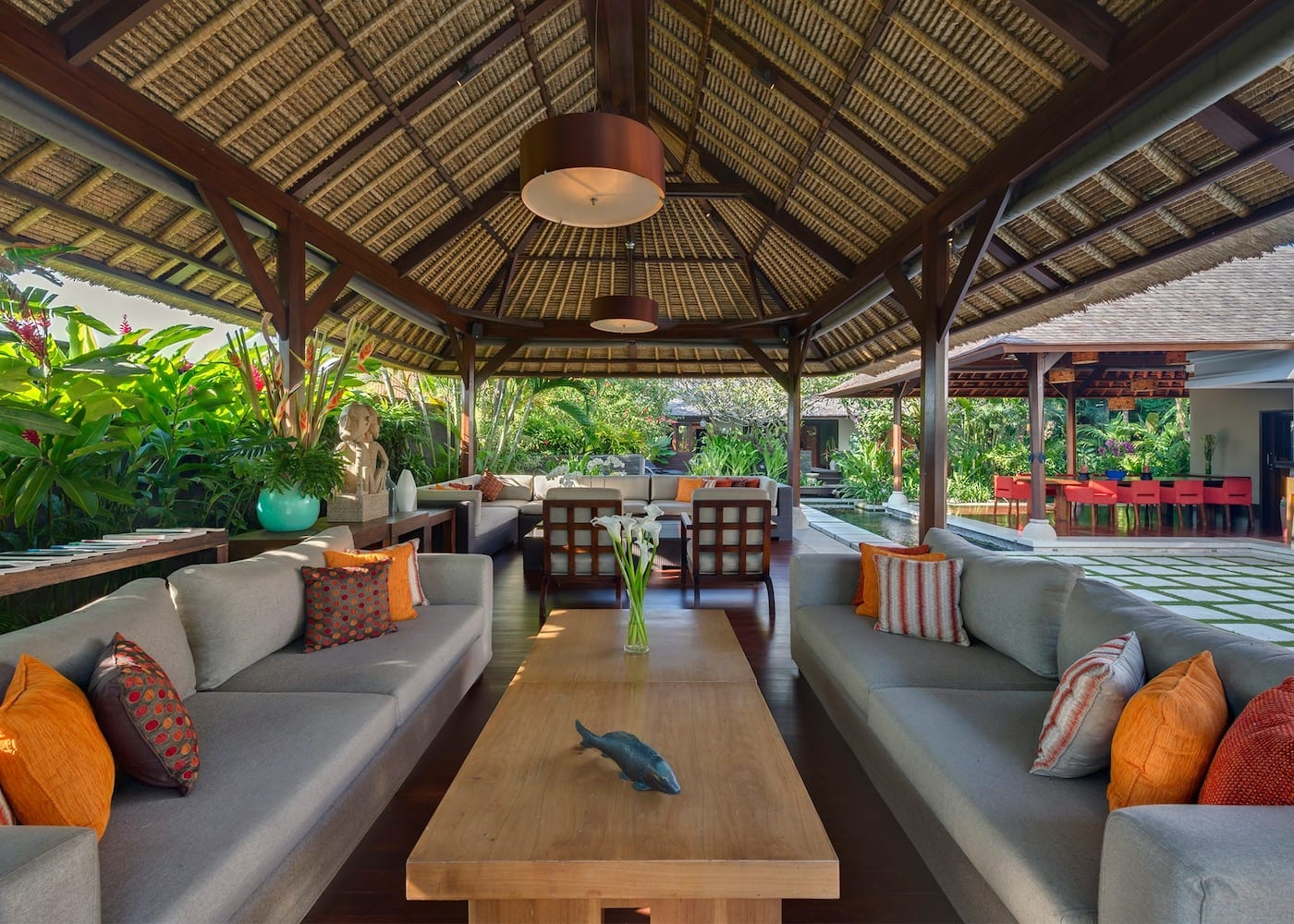 Inside Villa Asta - one of the best private villas in Seminyak, Bali, Indonesia