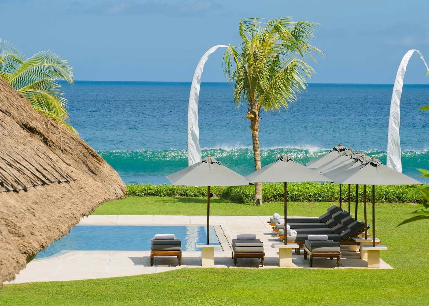 Inside Villa Atas Ombak - one of the best private villas in Seminyak, Bali, Indonesia