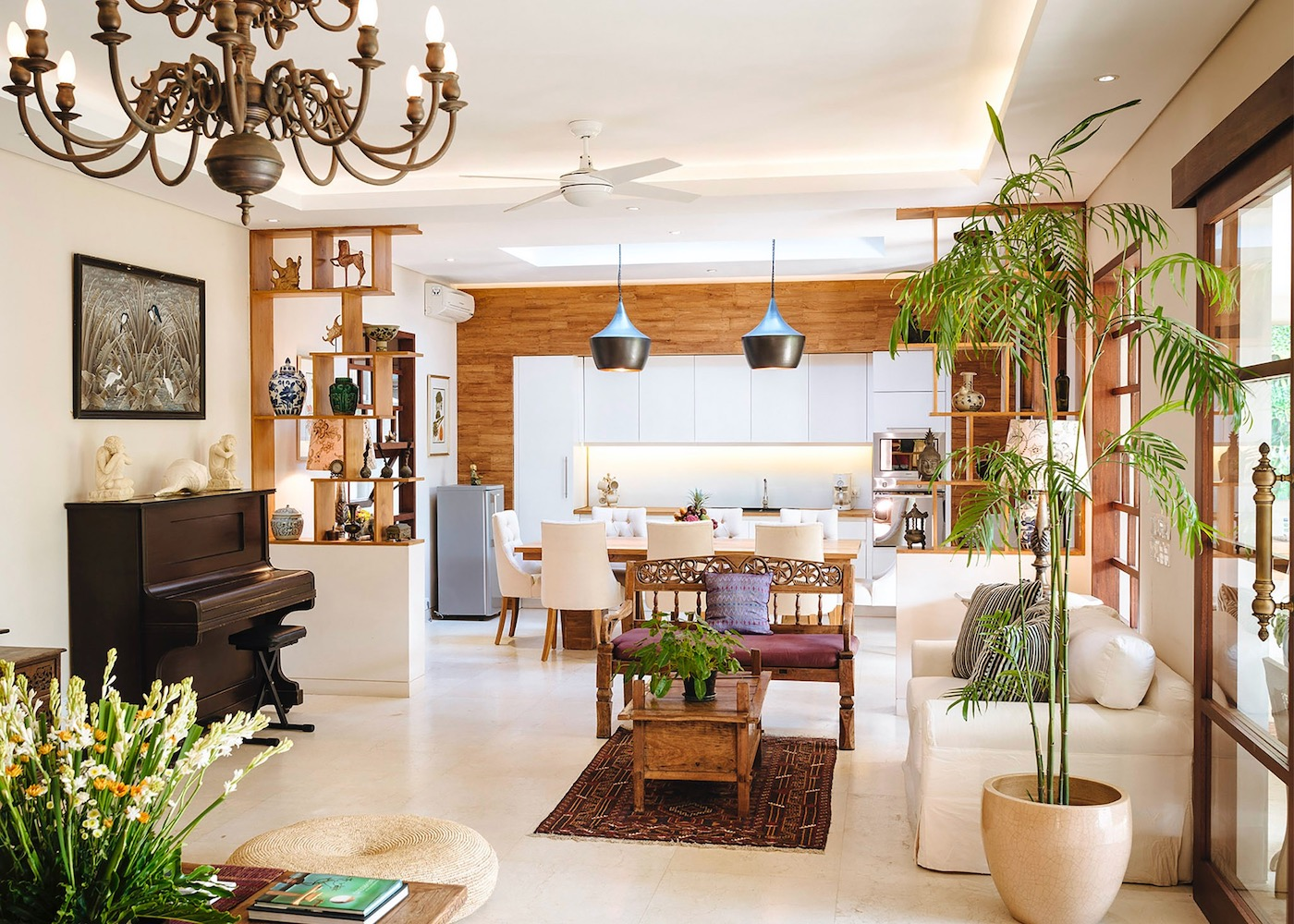 Inside The Baganding - one of the best private villas in Seminyak, Bali, Indonesia