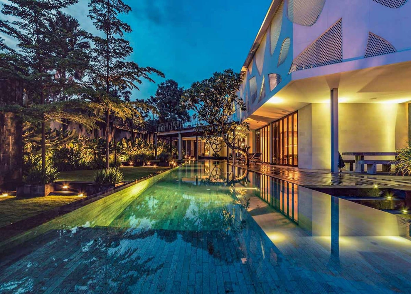 Inside Villa Issi - one of the best private villas in Seminyak, Bali, Indonesia