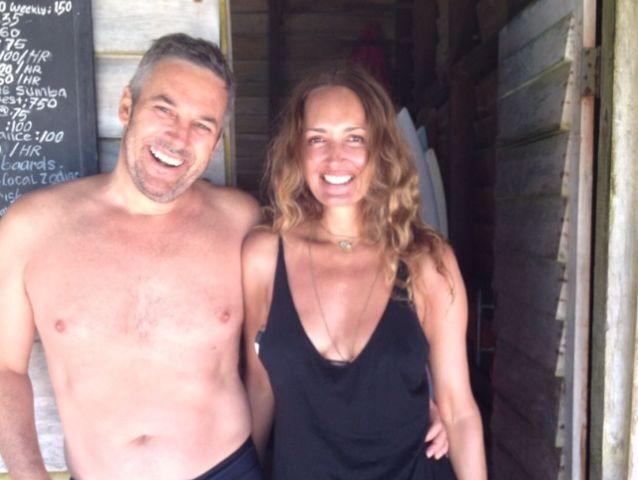 Gail Elliott in Bali