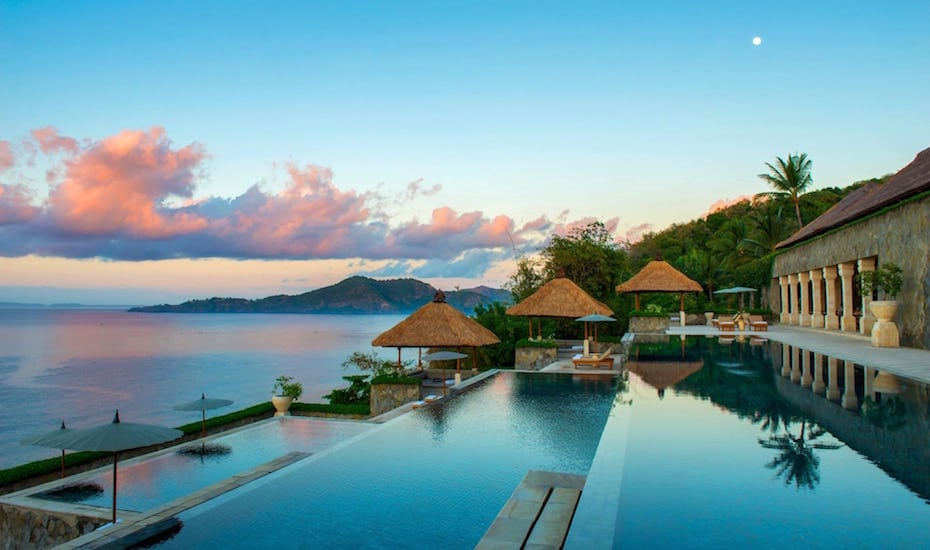 Bali's best infinity pools - Amankila Resort Karangasam
