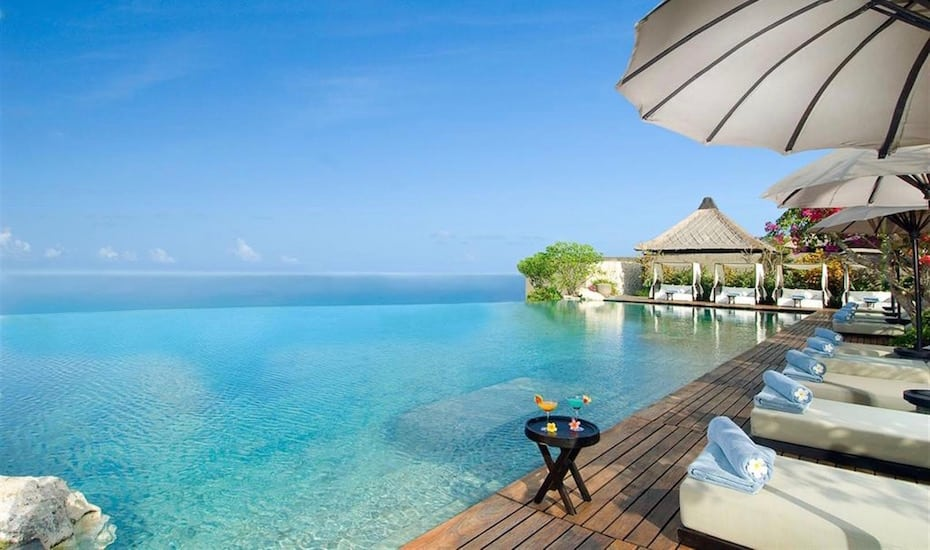 Bali's best infinity pools - Bulgari Resort Ungasan
