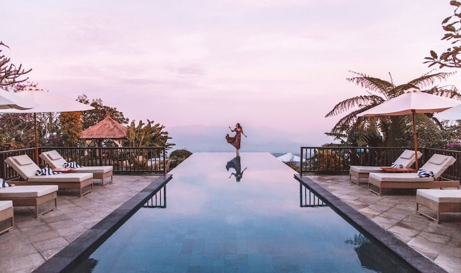 Bali's best infinity pools - Munduk Moding Plantation