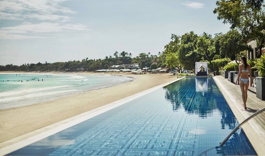 Bali's best infinity pools - Sundara at Four Seasons Jimbaran