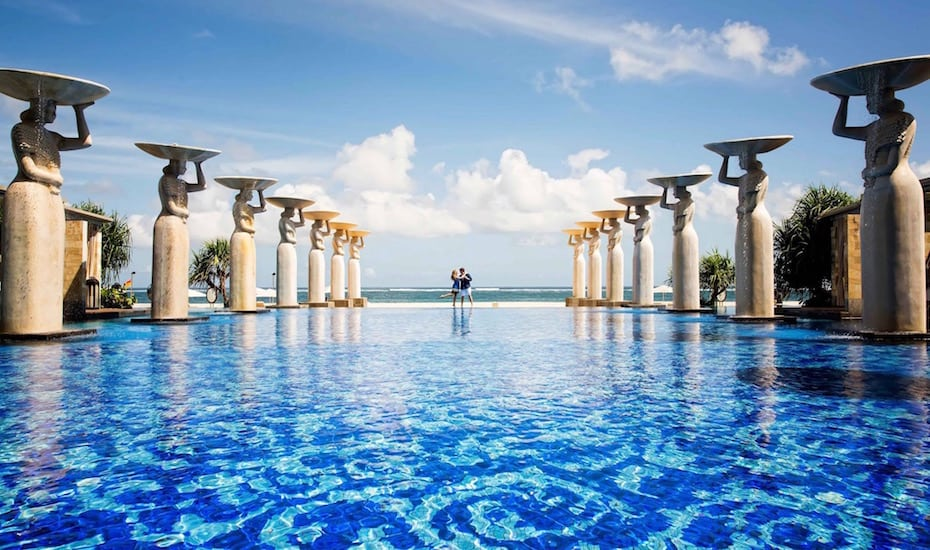 Bali's best infinity pools - The Mulia, Mulia Resort & Villas Nusa Dua