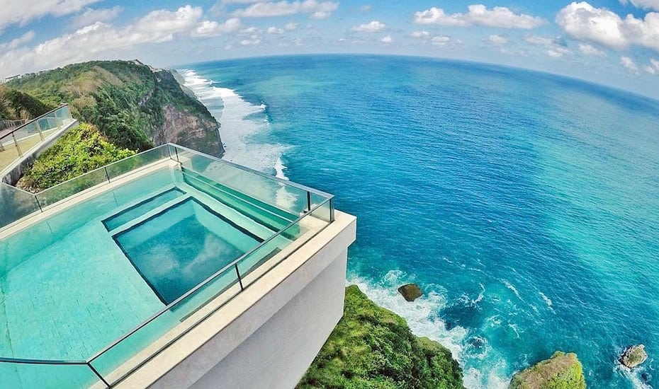 Bali's best infinity pools - oneeighty