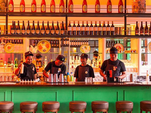Cocktails in Bali: Saigon Street