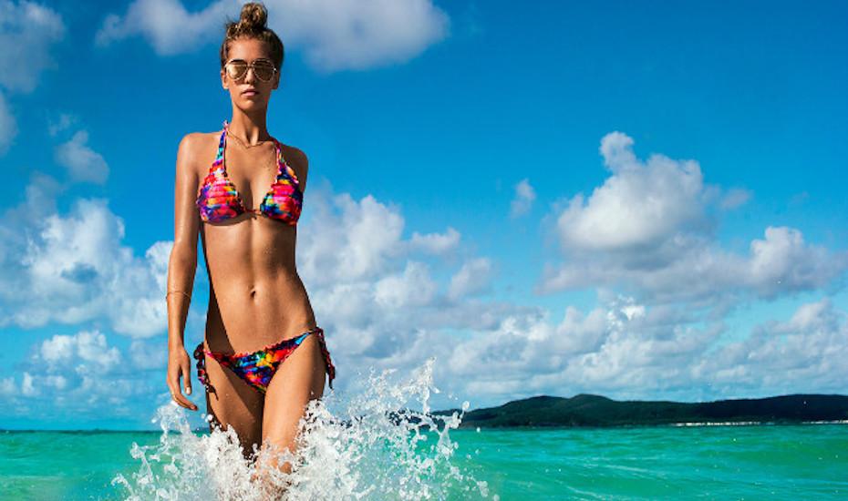 Teen model micro bikini write jobs