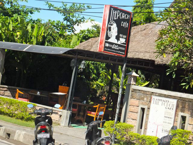 Sanur Guide: The Porch Cafe
