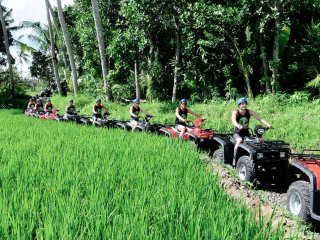 Bali Day Trips: Quad and Canyon Tubing