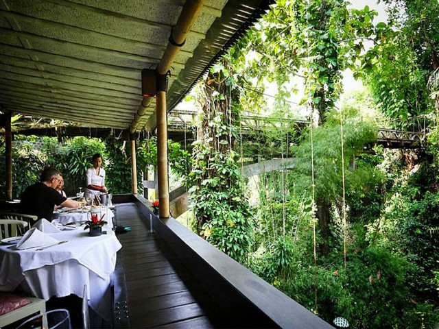 Restaurants in Ubud: Bridges Bali