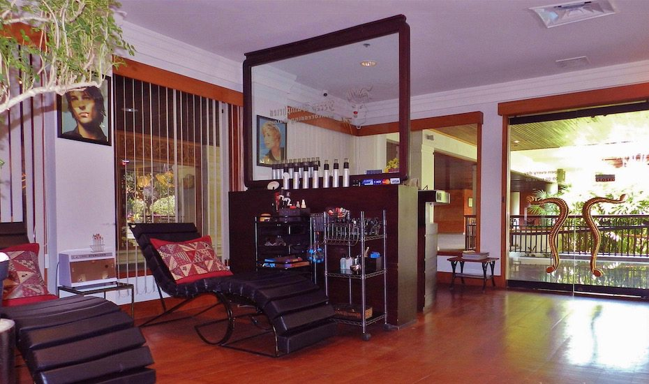 Bali's best hair salons - Jerry Humphries salon in Nusa Dua