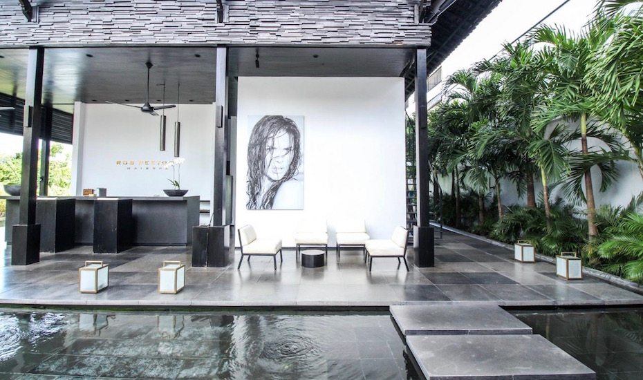 Rob Peetoom in Seminyak - one of the best hair salons in Bali, Indonesia