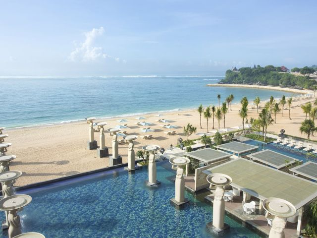 The World's Favourite Hotel The Mulia, as quoted by Conde Nast Traveller