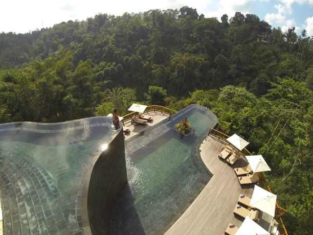 Instagram worthy places in Bali: Hanging Gardens