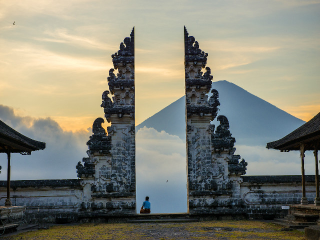 Instagram worthy places in Bali: Temples