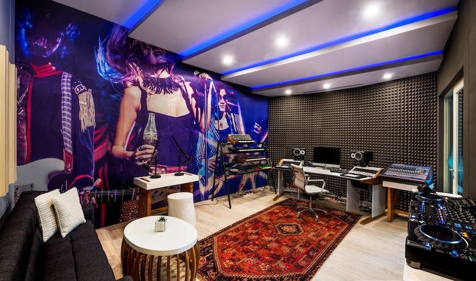 RECORD YOUR OWN MUSIC IN PARADISE AT THE NEW RECORDING STUDIO AT THE W BALI IN SEMINYAK