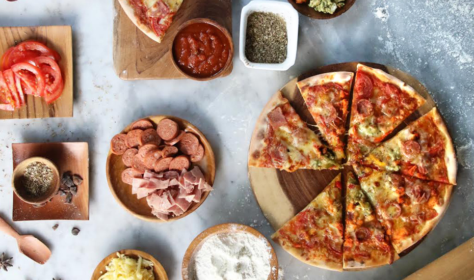 Fun things to do in Bali: pizza making class at Four Points Kuta